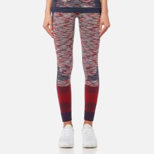 adidas by Stella McCartney Women's Yoga Tights - Collegiate Navy/Dark Calistos/White