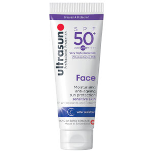 ultrasun Face Moisturising anti-ageing sun protection sensitive skin SPF 50+