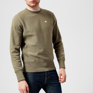 Champion Men's Crew Neck Sweatshirt - Khaki