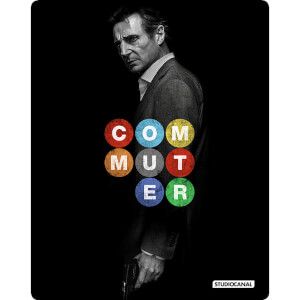 The Commuter: 4K Ultra HD - Zavvi UK Exclusive Limited Edition Steelbook