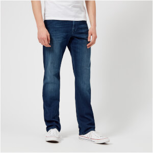 7 For All Mankind Men's Slimmy Luxe Performance Jeans - Farmington Bright Blue