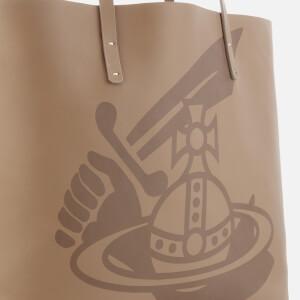 Vivienne Westwood Women's Made in Kenya Leather Shopper Bag - Beige: Image 4