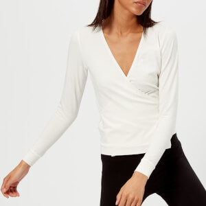 Pepper & Mayne Women's Cotton Ballet Wrap Cardigan - Ivory