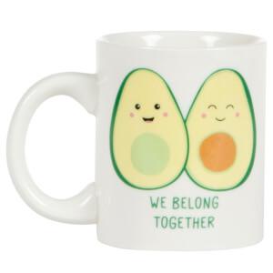Sass & Belle We Belong Together Avocado Mug
