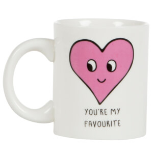 Sass & Belle You're My Favourite Heart Mug