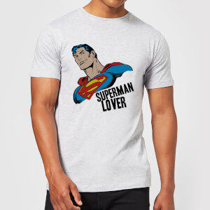 DC Comics Superman Lover T-Shirt - Grey