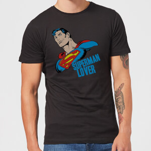 T-Shirt Homme Superman Lover (DC Comics) - Noir