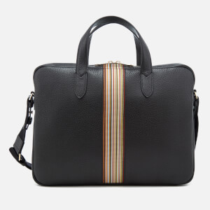 Paul Smith Accessories Men's Tape Detail Portfolio - Black