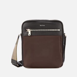 Paul Smith Accessories Men's Stripe Detail Crossbody Bag - Black