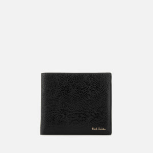 Paul Smith Accessories Men's Leather Billfold Wallet - Black