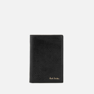 Paul Smith Accessories Men's Leather Card Holder - Black
