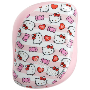 Brosse de Poche Compact Styler Hairbrush – Hello Kitty Candy Stripes