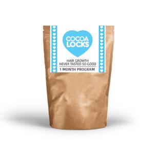 Cocoa Locks 1 Monat Hot Chocolate Hair Growth Program