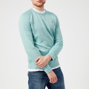 Levi's Men's Original Crew Sweatshirt - Cameo Blue