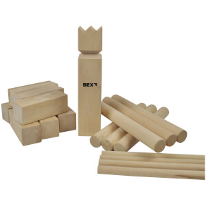 BEX Kubb Family Game - Birch Wood