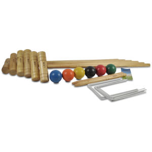 Gamesson Sport 6 Mallet Pro Croquet Set