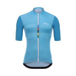 Santini UCI Grandi Campioni Merckx Jersey - Blue