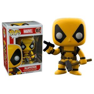 Figura Funko Pop! Exclusivo - Deadpool Slapstick - Marvel