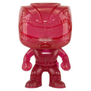 Figura Funko Pop! EXC. Ranger Rojo Purpurina - Power Rangers