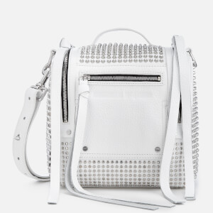 McQ Alexander McQueen Women's Mini Convertible Box Bag - White