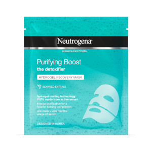 Máscara de Hidrogel Reparadora Purifying Boost da Neutrogena 30 ml