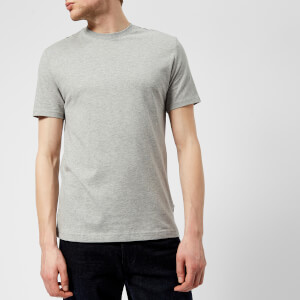 Aquascutum Men's Southport CC Shoulder Short Sleeve T-Shirt - Grey Melange