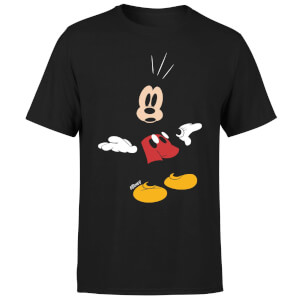 Disney Mickey Mouse Surprised T-Shirt - Black