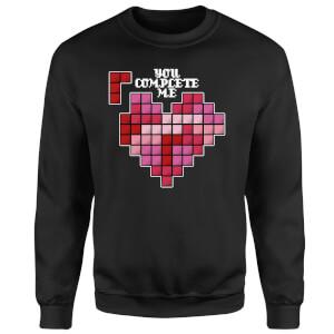 You Complete Me Sweatshirt - Black