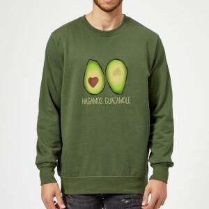 Hagamos Guacamole Sweatshirt - Forest Green