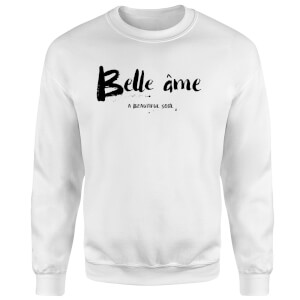 Belle Ame Sweatshirt - White