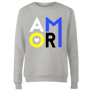 Amor Women's Sweatshirt - Grey