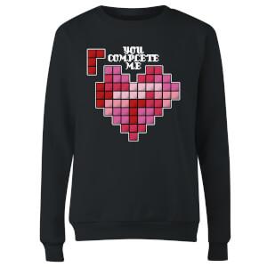 You Complete Me Women's Sweatshirt - Black