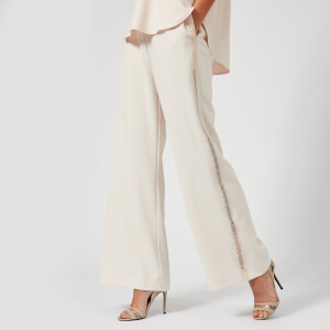 See By Chloé Women's Wide Leg Trousers - Honey/Nude