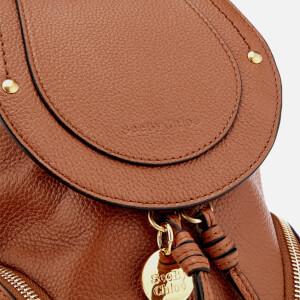 See By Chloé Women's Mini Olga Backpack - Caramello: Image 4