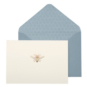 Portico Designs Notecards - Bee (Set of 10)