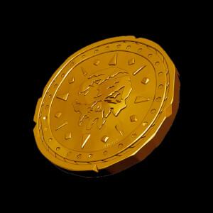 Pièce de Collection Sea Of Thieves - Édition Dorée Exclusive pour Zavvi (1000 exemplaires): Image 1