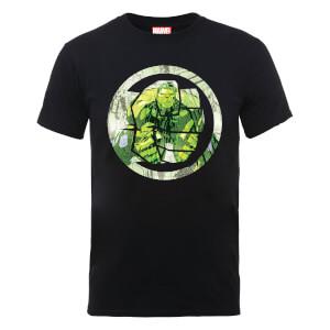 T-Shirt Homme Marvel Avengers Assemble - Hulk Montage - Noir