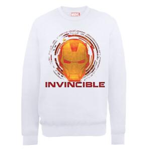 Marvel Avengers Assemble Iron Man Invincible Sweatshirt - White