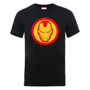 Marvel Avengers Assemble Iron Man T-Shirt - Schwarz