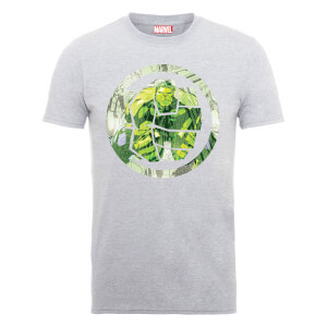 T-Shirt Homme Marvel Avengers Assemble - Hulk Montage - Gris
