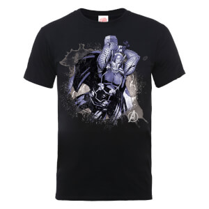 Marvel Avengers Assemble Thor Splash T-Shirt - Black