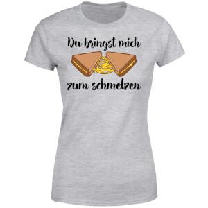Zum Schmelzen Women's T-Shirt - Grey