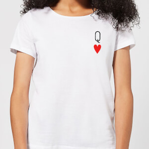 Queen Of Hearts Women's T-Shirt - White