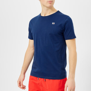 Tommy Hilfiger Men's Flag Logo T-Shirt - Blue Depths