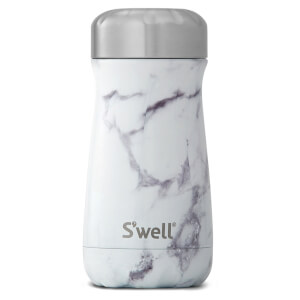 S'well The White Marble Traveller Bottle 350ml