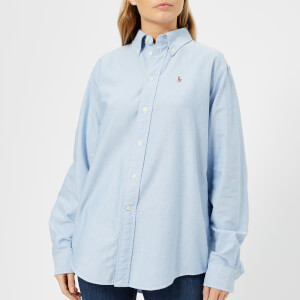 Polo Ralph Lauren Women's Oversized Shirt - Blue