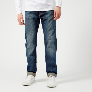 Edwin Men's ED-80 Slim Tapered Rainbow Selvedge Jeans - Moriko Wash