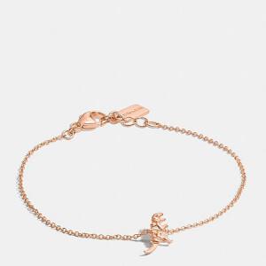 Coach Women's Mini Rexy Bracelet - Rosegold