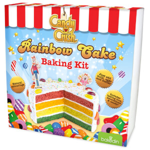 bakedin Candy Crush Regenbogenkuchen