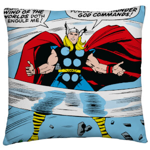 Marvel Comics Retro Square Cushion